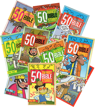 50 Bible Stories book covers
