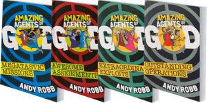 Amazing Agents of God books