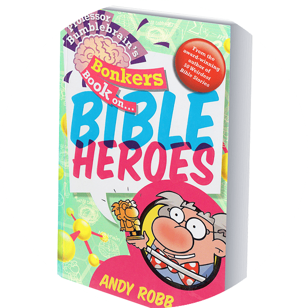 Bible Heroes book cover