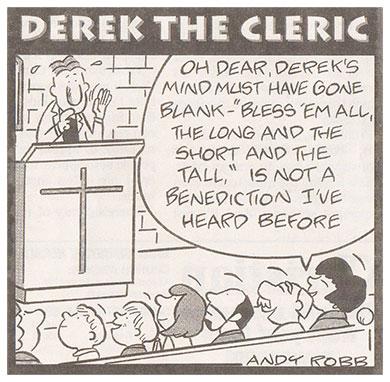Derek the Cleric cartoon