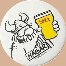 SKOL Hagar badge